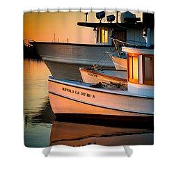 Buffalo Boat Shower Curtain