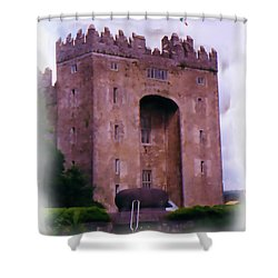 Bunratty Castle Painting Shower Curtain
