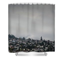 Burnaby Hill Shower Curtain