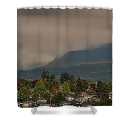 Burnaby Mountain Shower Curtain