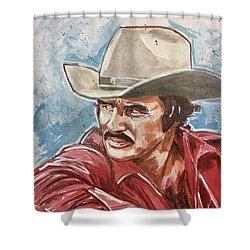 Burt Reynolds Shower Curtain