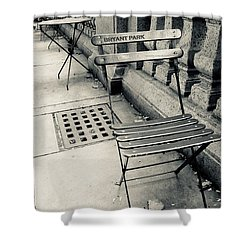 Byrant Park Shower Curtain