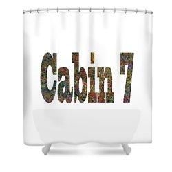 Cabin 7 Bold Shower Curtain