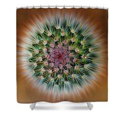 Cactus Cooler Shower Curtain