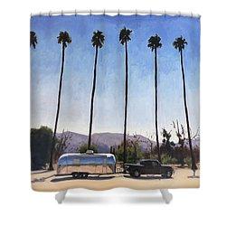 California Honeymoon Shower Curtain