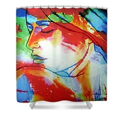 Calm Through The Storm Shower Curtain