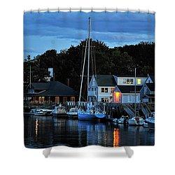 Camden Maine Twightlight Shower Curtain