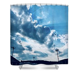 Camping Bliss Shower Curtain