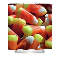 Shower Curtain featuring the photograph Candy Corn For Halloween by Bill Swartwout Fine Art Photography