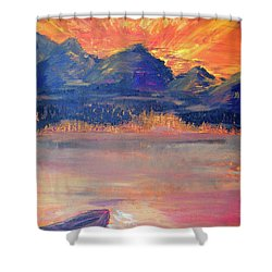 Canoe Trips Shower Curtain