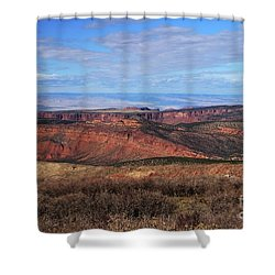 Canyons Of Utah Shower Curtain