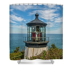 Cape Mereas Light Shower Curtain