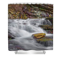 Cascade 2 Shower Curtain