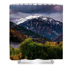 Shower Curtain featuring the photograph Cascade Mountain by TL Mair