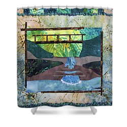 Cascades Shower Curtain