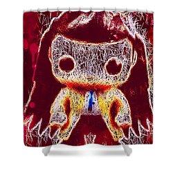 Castiel Supernatural Pop Shower Curtain