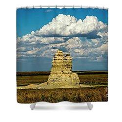Castle Rock Shower Curtain