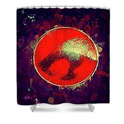 Thundercats Logo Shower Curtain