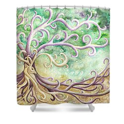 Celtic Culture Shower Curtain