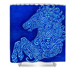 Celtic Horse Shower Curtain