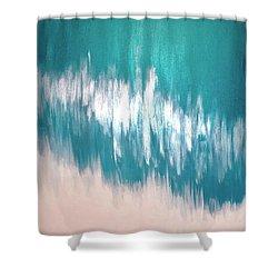 Cerulean September  Shower Curtain
