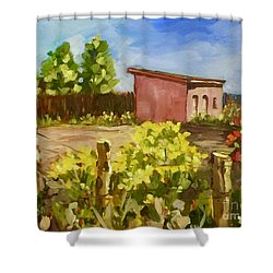Chamesa In Bloom Shower Curtain