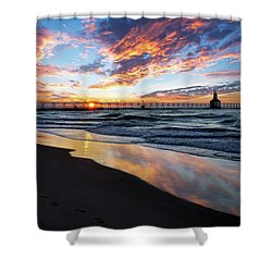 Chasing The Dream Shower Curtain