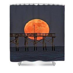 Cheddar Moon Shower Curtain