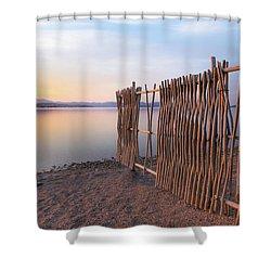 Shower Curtain featuring the photograph Chega De Saudade by Davor Zerjav