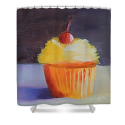 Cherry On Top Shower Curtain