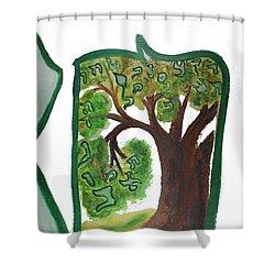 Chet, Tree Of Life  Ab21 Shower Curtain