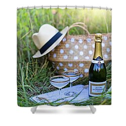 Chic Picnic Shower Curtain
