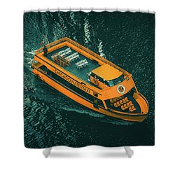 Chicago Taxi Shower Curtain