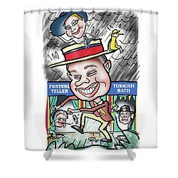 Chris And Mia Shower Curtain