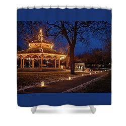 Christmas Eve In Dexter Shower Curtain