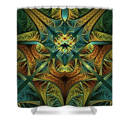 Chronicles Shower Curtain
