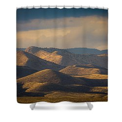 Chupadera Mountains II Shower Curtain