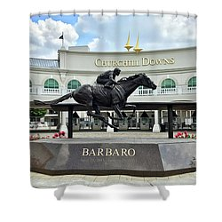 Churchill Downs Barbaro Shower Curtain