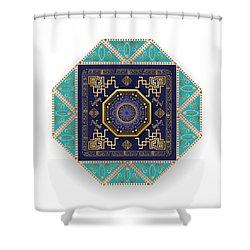 Circumplexical No 3556 Shower Curtain