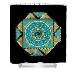 Circumplexical No 3557 Shower Curtain