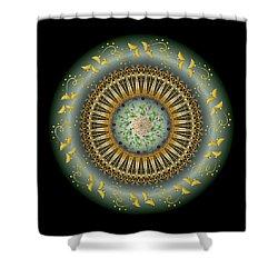 Circumplexical No 3674 Shower Curtain