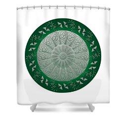 Circumplexical No 3690 Shower Curtain