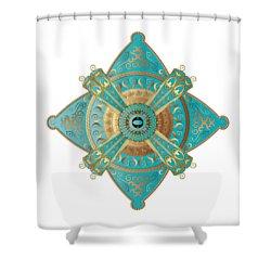 Circumplexical No 3695 Shower Curtain