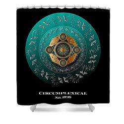 Circumplexical No 3739.1 Shower Curtain