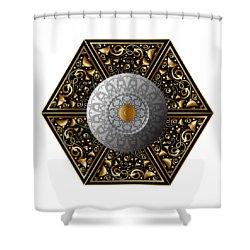 Circumplexical No 3854 Shower Curtain
