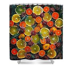 Citrus Time Shower Curtain