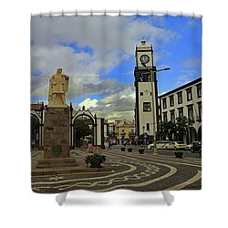 Shower Curtain featuring the photograph City Gate  by Tony Murtagh