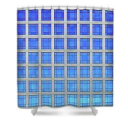 City Grids 60 Shower Curtain