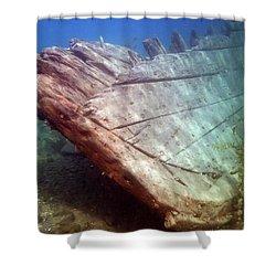 City Of Grand Rapids Shipwreck Ontario Canada 8081801c Shower Curtain