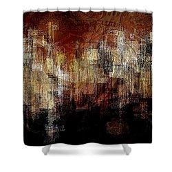 City On The Edge Shower Curtain